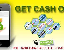 #6 for Design a Coverpage & Banner for Cash Gain App af aadil666