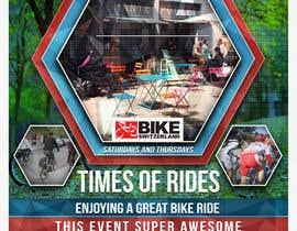 Nro 29 kilpailuun Design a Flyer for Bike Rides käyttäjältä DidierBarrios481