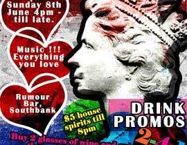 #27 untuk Design a Flyer for late night bar event oleh del15691987