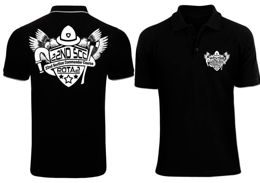 Penyertaan Peraduan #24 untuk Design a T-Shirt for 22nd SCC