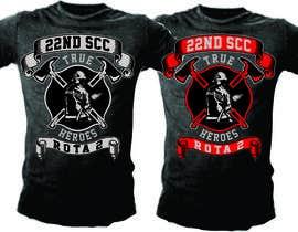 #30 untuk Design a T-Shirt for 22nd SCC oleh mj956