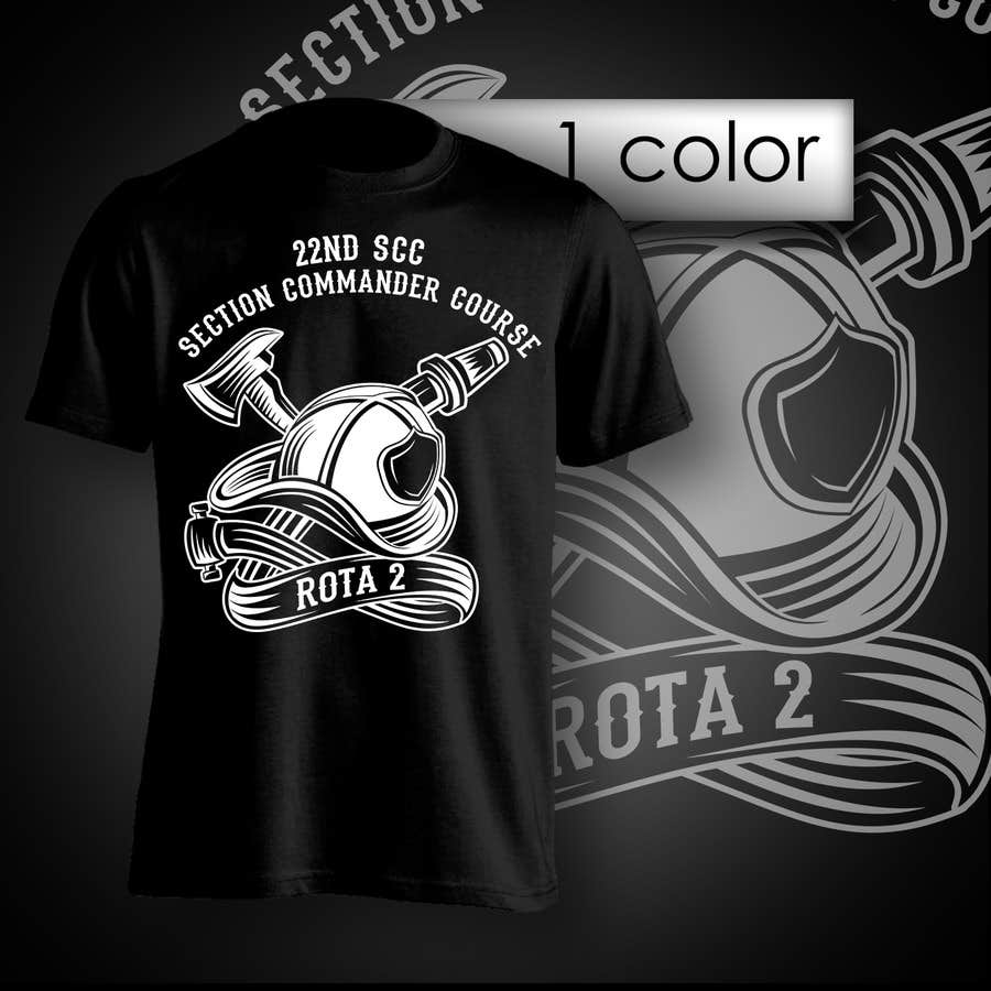Penyertaan Peraduan #37 untuk Design a T-Shirt for 22nd SCC
