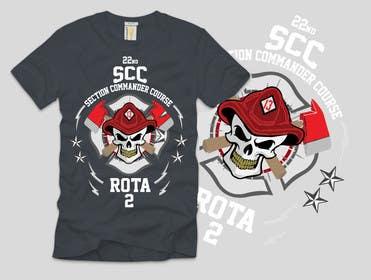 Nro 10 kilpailuun Design a T-Shirt for 22nd SCC käyttäjältä ezaz09