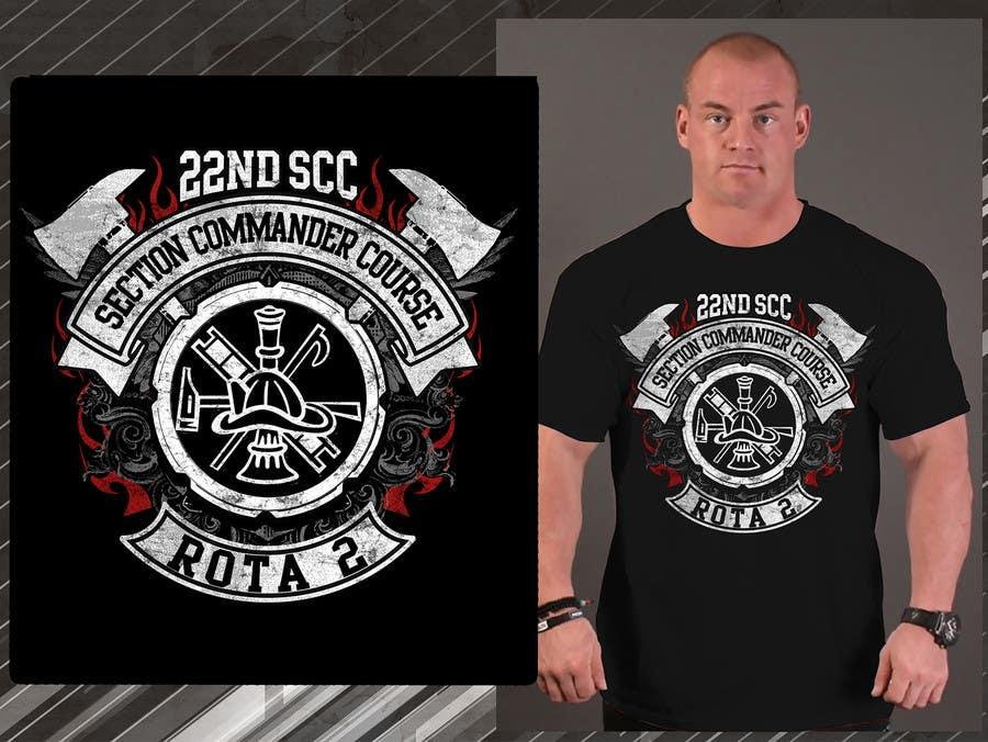Penyertaan Peraduan #34 untuk Design a T-Shirt for 22nd SCC