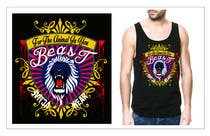 Graphic Design Kilpailutyö #14 kilpailuun Design a Mens or Womens MMA style T-Shirt