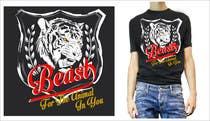 Graphic Design Kilpailutyö #15 kilpailuun Design a Mens or Womens MMA style T-Shirt