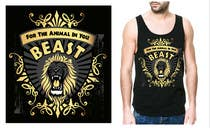 Graphic Design Kilpailutyö #22 kilpailuun Design a Mens or Womens MMA style T-Shirt