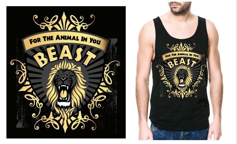 Kilpailutyö #22 kilpailussa Design a Mens or Womens MMA style T-Shirt