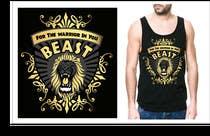 Graphic Design Kilpailutyö #31 kilpailuun Design a Mens or Womens MMA style T-Shirt