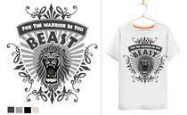 Graphic Design Kilpailutyö #37 kilpailuun Design a Mens or Womens MMA style T-Shirt