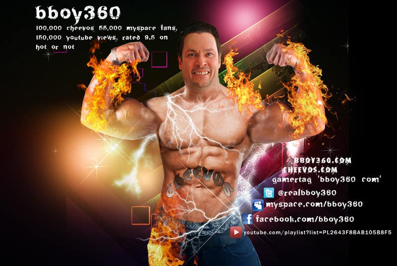 Bài tham dự cuộc thi #12 cho Add Muscles, Lightning, Fire and Awsomeness to a photo of Me