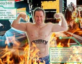 #11 cho Add Muscles, Lightning, Fire and Awsomeness to a photo of Me bởi ecky