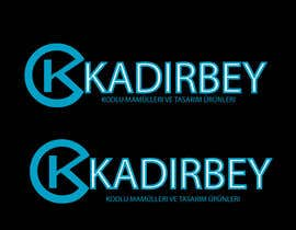 #29 para Design a Logo for kadirbey (it is a software company) por Woow8