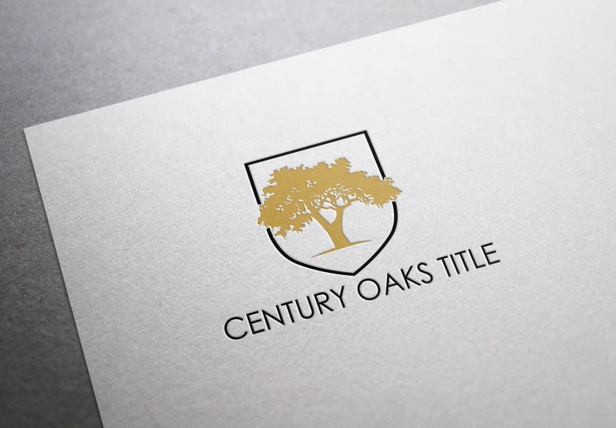 Konkurrenceindlæg #40 for Design a Logo for Century Oaks Title
