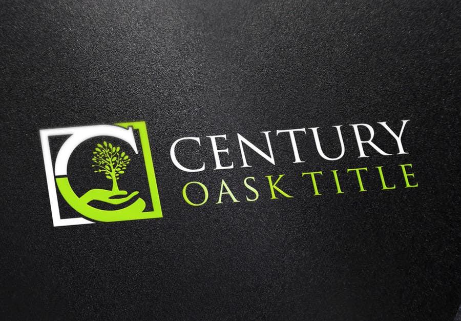 Konkurrenceindlæg #65 for Design a Logo for Century Oaks Title
