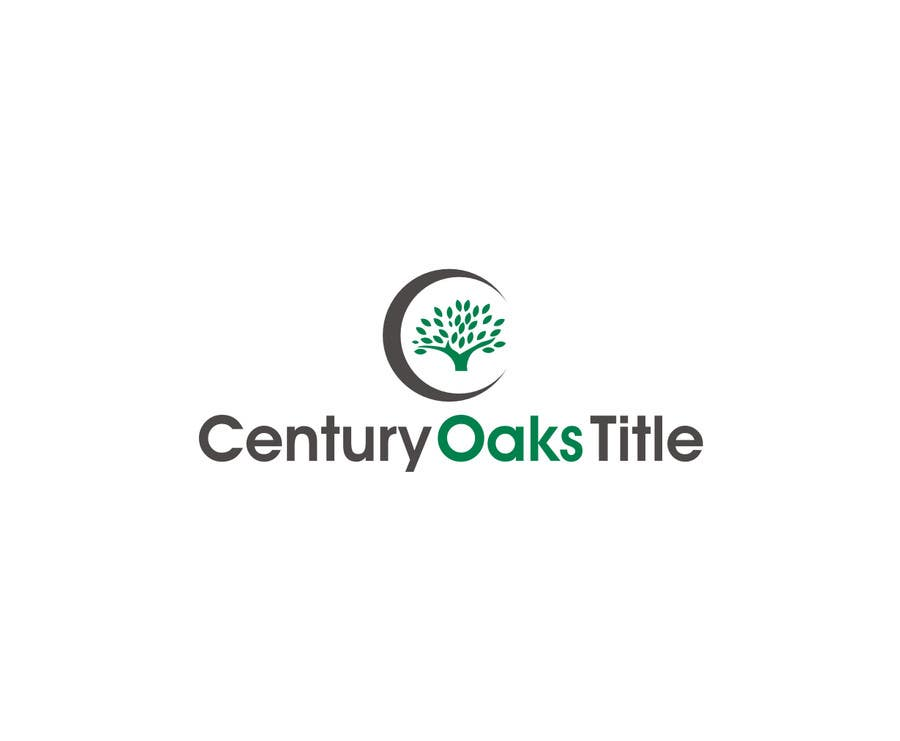 Konkurrenceindlæg #85 for Design a Logo for Century Oaks Title