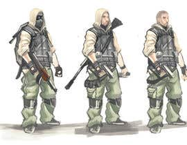 nº 14 pour Soldiers VS Terrorists Concept Art par danchokku
