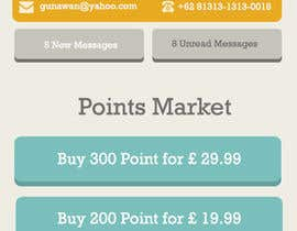 #8 para Design a set of HTML5 Mobile templates por dikigunawan