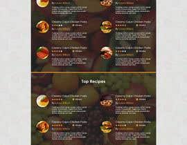 muhamedibrahim25 tarafından Food Website Design için no 7