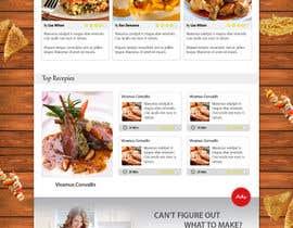 kethketh tarafından Food Website Design için no 19