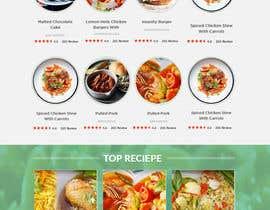 lassoarts tarafından Food Website Design için no 45
