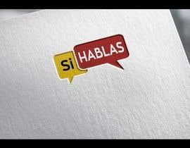 Med7008 tarafından Design a LogoS for   SI HABLAS için no 27