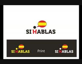 #39 for Design a LogoS for   SI HABLAS by Dokins