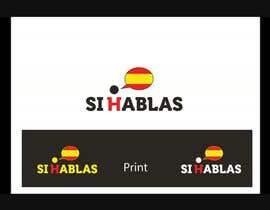 Dokins tarafından Design a LogoS for   SI HABLAS için no 39