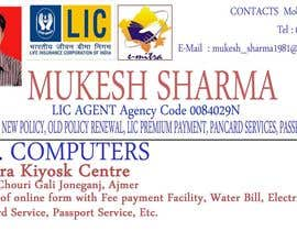 #16 for Design some Business Cards for GAA af mukeshsharma1980
