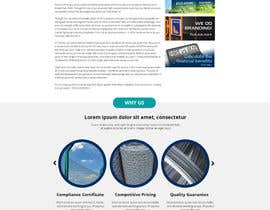 #13 cho Design a Website Mockup for Fortress Fencing bởi SkylineServes