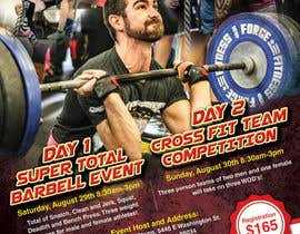#9 para Design an Poster for a Fitness Event por Moorthy123