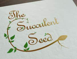 #116 for Design a Logo for The Succulent Seed af gurusinghekancha