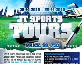 #21 for Design a Flyer for Golf Tour af mirandalengo