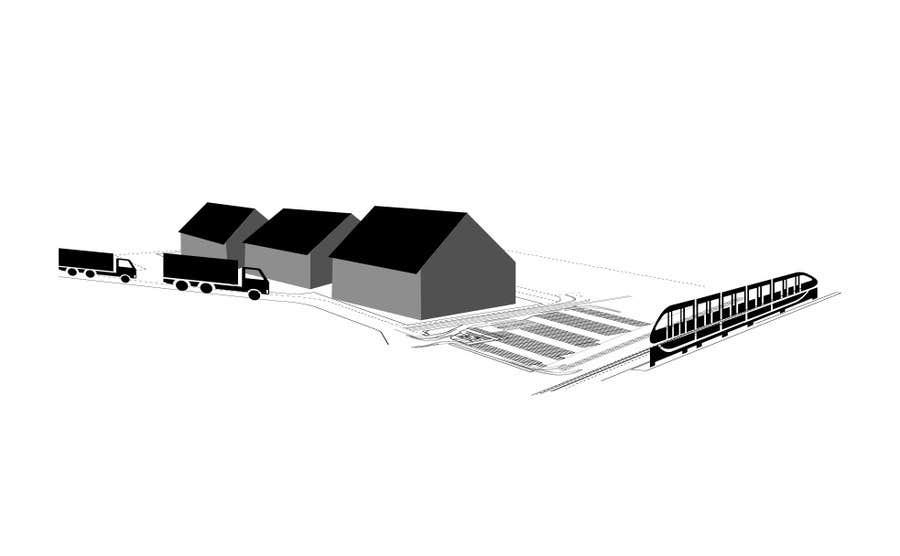 Bài tham dự cuộc thi #20 cho illustrate flow of trains and trucks