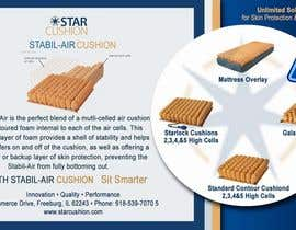 #6 untuk Design an Ad for Star Cushion Products, Inc. oleh starfz