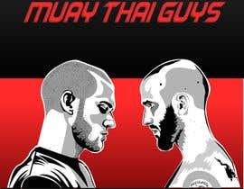 cpyton tarafından Design a Logo for Muay Thai Guys Podcast için no 1