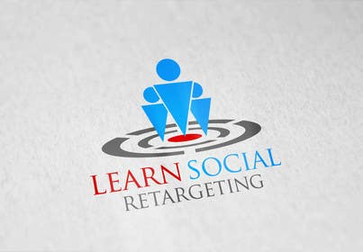 Nro 14 kilpailuun Design a Logo for Learn Social Retargeting käyttäjältä zubidesigner