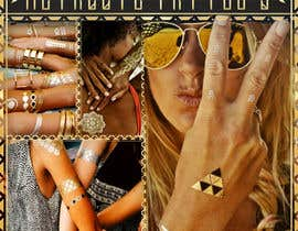 #68 cho Trend Board/ Collage for our Featured Trend- Metallic Tattoos bởi fi6