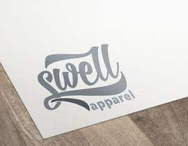 #19 untuk Design a Logo for Swell Apparel oleh vladspataroiu