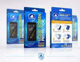 #12 para Create Print and Packaging Designs for Screen Protector por dabanzz