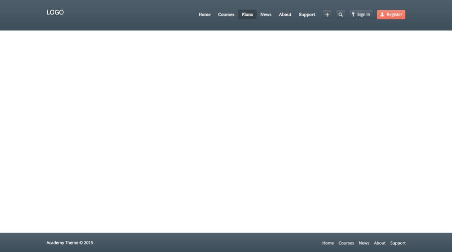 how to add a footer in bootstrap