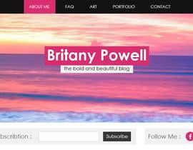 Nro 6 kilpailuun Design a Blogger Landing Page käyttäjältä muhamedibrahim25