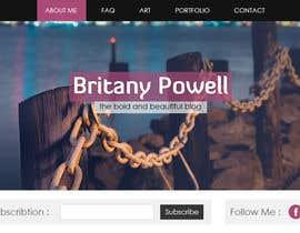 Nro 9 kilpailuun Design a Blogger Landing Page käyttäjältä muhamedibrahim25