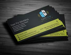 Nro 1 kilpailuun Provide a business card which defines the mobile repair industry käyttäjältä anikush