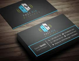 #9 for Provide a business card which defines the mobile repair industry af Fgny85