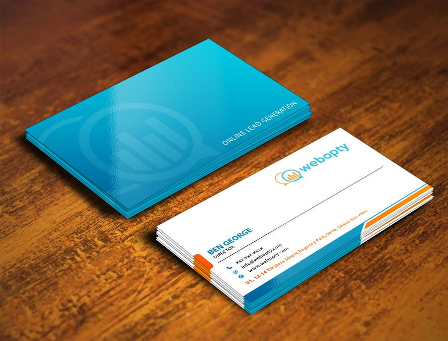 Entry #9 by shyRosely for Design Business Cards For Digital ...