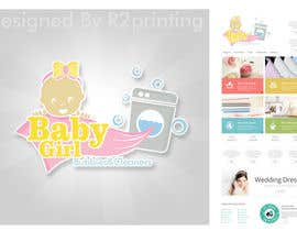 #13 cho Design a Logo for Baby Girl Bubbles & Cleaners bởi ray2printing