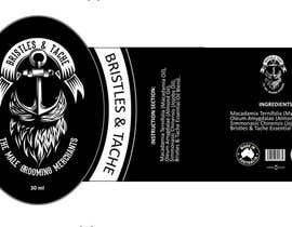 #12 untuk Design 3 Beard Oil Labels for new products launch oleh sensinine