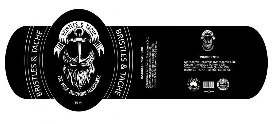 Konkurrenceindlæg #13 for Design 3 Beard Oil Labels for new products launch