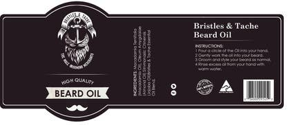 #5 untuk Design 3 Beard Oil Labels for new products launch oleh RainMQ